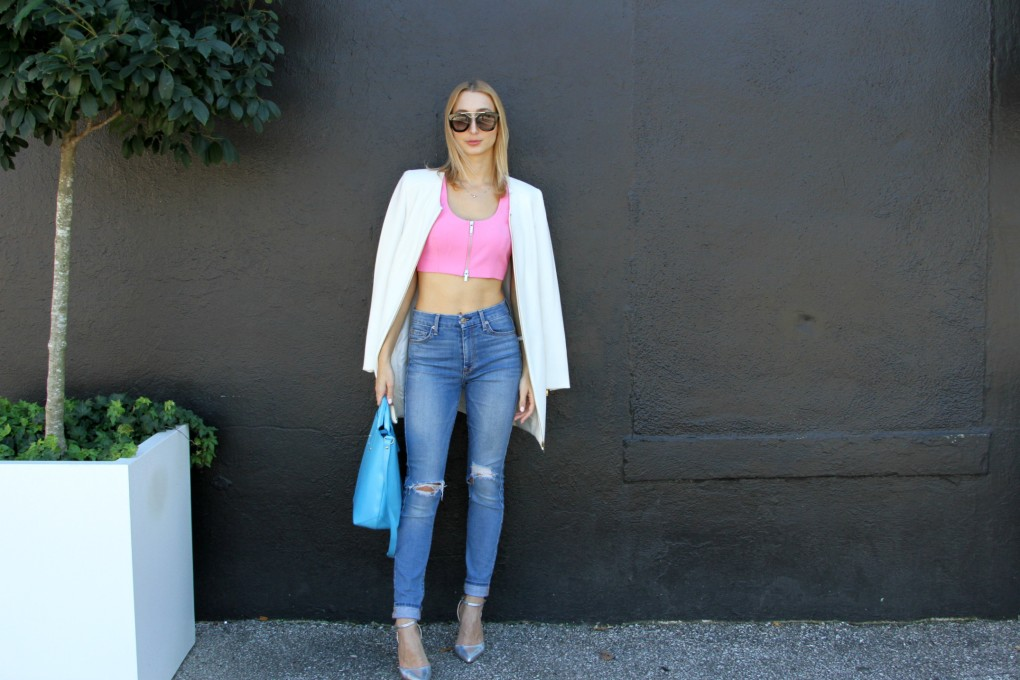 8b23e3f4c Wear a Crop Top Like the Fashion Girls + Win a Pair of Jeans from ...