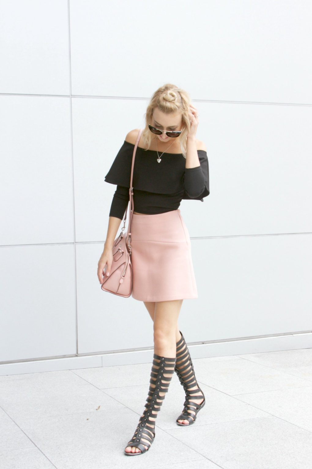 pink and black 3