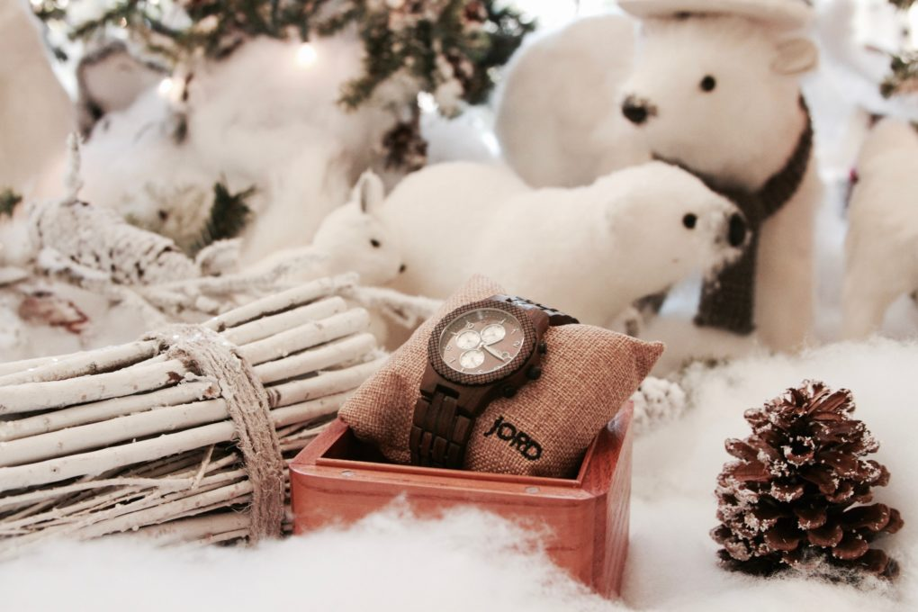 wood watch gift