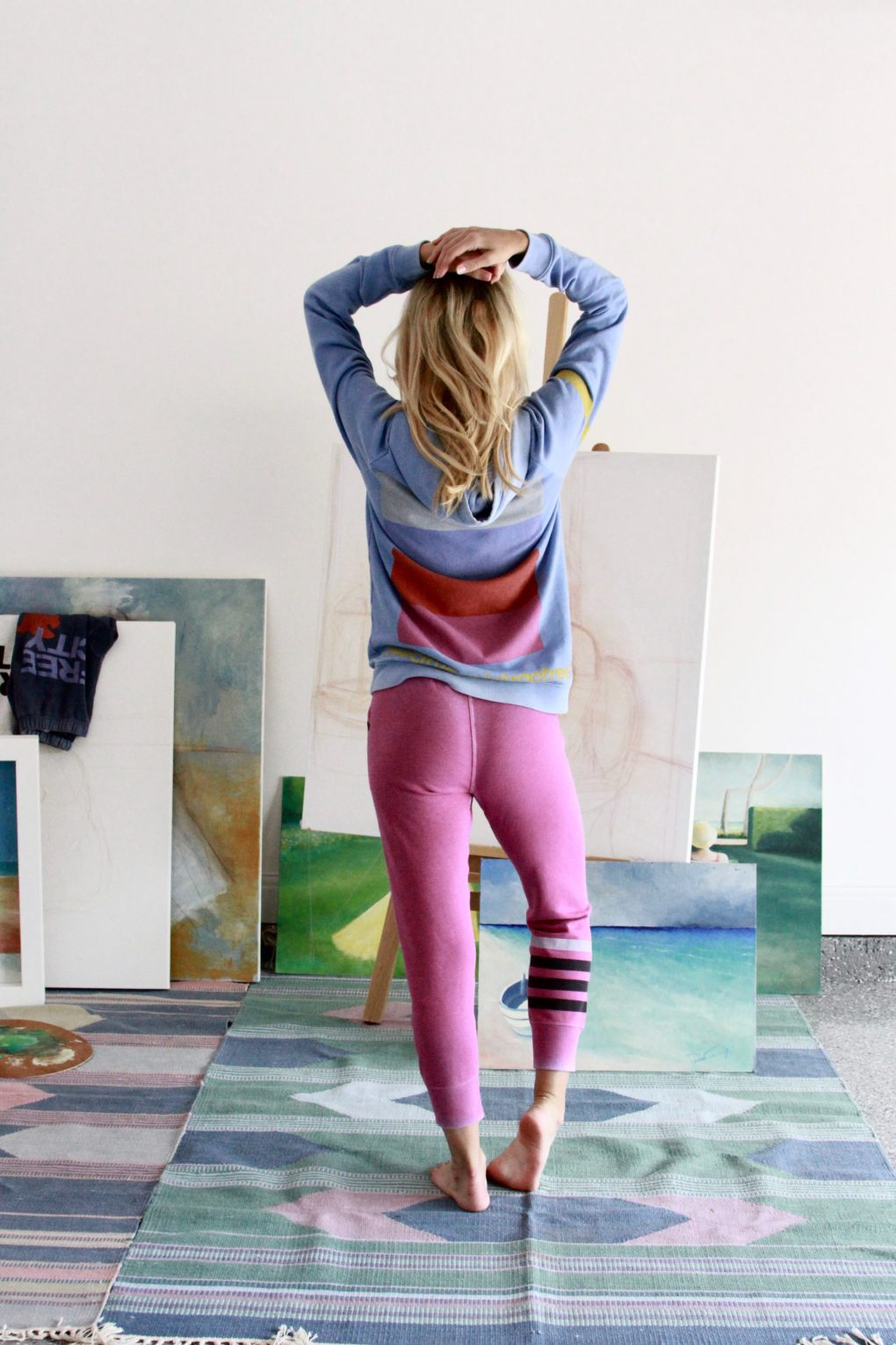 Creative Weekends and Colorful Lazy Sunday Wear