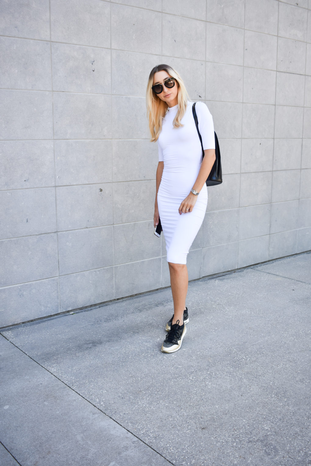 Sporty Summer Dress + Nike Air Max