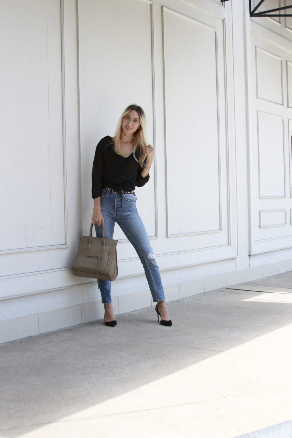Jeans on Repeat: Favorite Pair of High Waisted Jeans