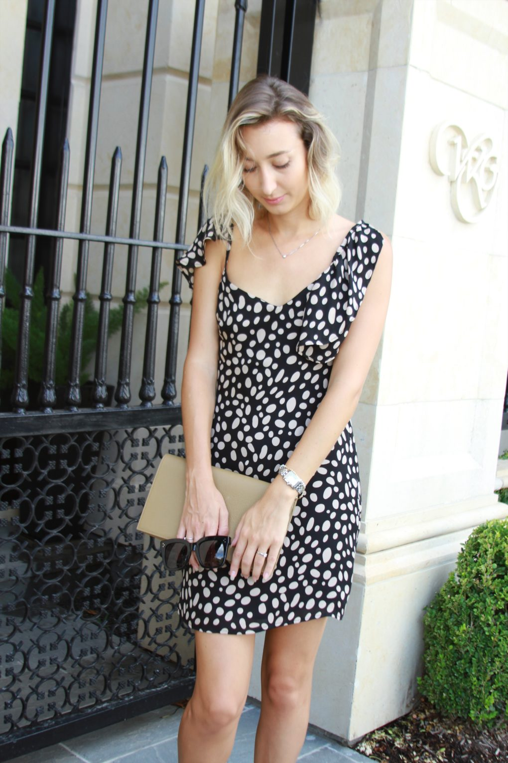 Stone Cold Fox polka dot dress