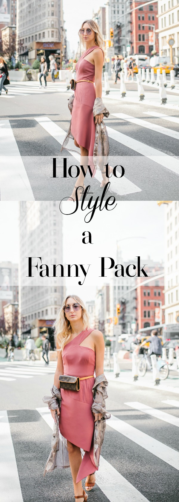 How to Wear a Fanny Pack #NYFW